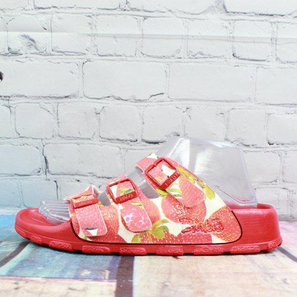 BIRKENSTOCK Betula 3-Strap Sandals Size 39 US 8
